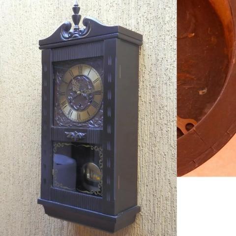 Relógio Carrilhão Silco De Parede Anos 80 Revisado d1ebe34a9abfe