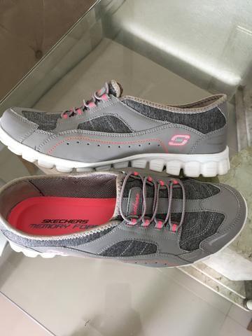385d1aae929 Legítimo Tenis Skechers Memory Foam USA 38 - Roupas e calçados ...