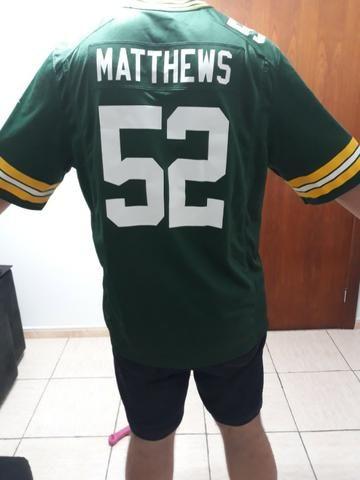 ATENÇÃO!!! Camisa futebol americano NFL Green Bay Packers - Roupas e ... 632b040a18b