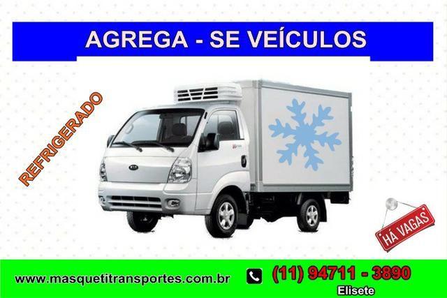 Fixo : Agrega - se Veículos Refrigerados Imediato Van Vuc Caminhão 3/4