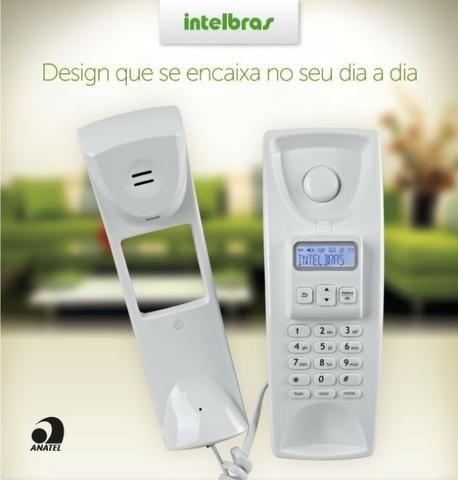 Telefone Gôndola com Fio, Intelbras , TC 2110, Branco com identificador de chamadas - Foto 2