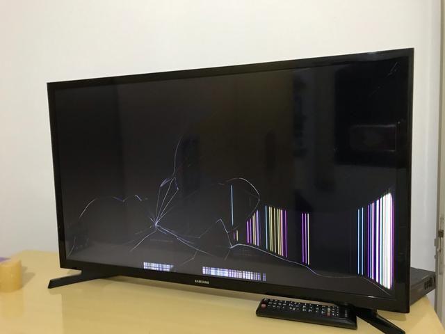 Televisão 32? com defeito