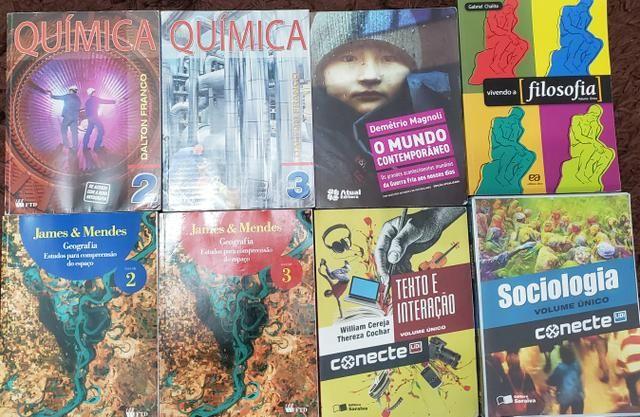 Livros de Ensino Médio/Cursinho