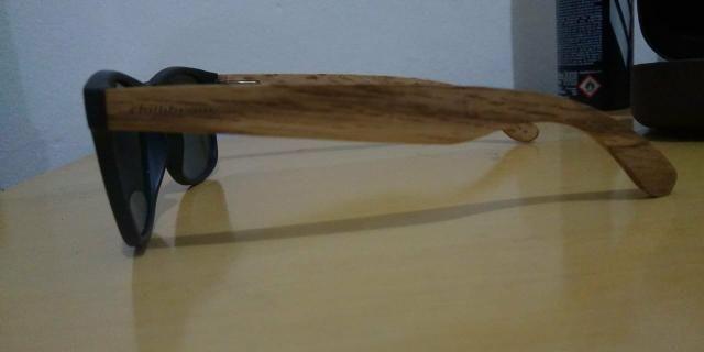 760d7d86b98ea Oculos de sol ChilliBeans lateral de madeira - Bijouterias, relógios ...