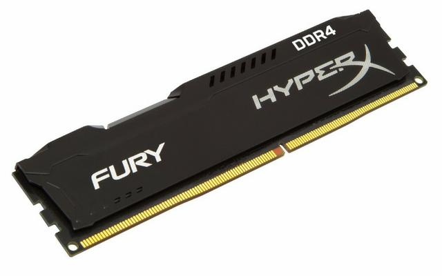 Memória Hyper-x Fury kingston Ddr4 4GB e 8GB 2400 mhz