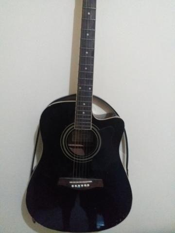 Violão Ibanez folk timbre perfeito