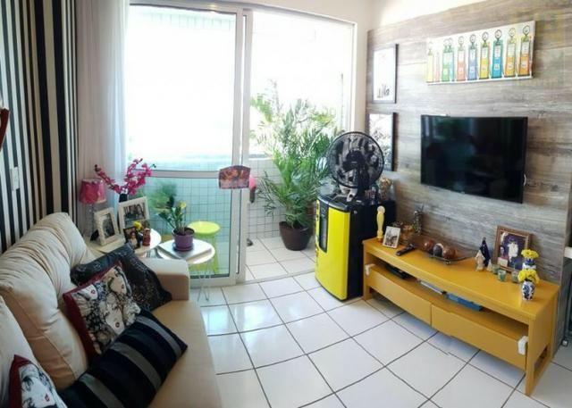 Vendo apartamento no Condomínio Lual de Ponta Negra 56m² 2/4 sendo uma suite, andar alto - Foto 12