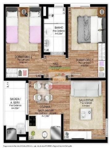 Residencial punta del este, apartamento 2 dormitórios eleva padrão do bairro santo afonso - Foto 8