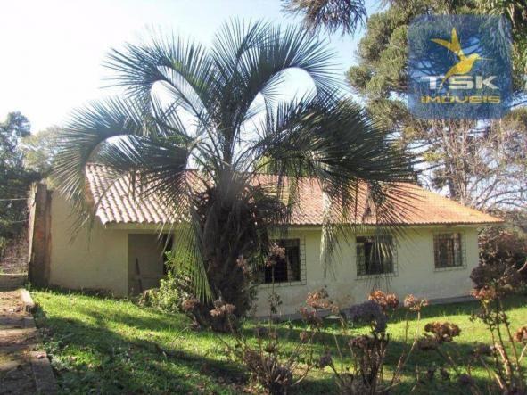 CH0252 - Agudos do Sul Chácara 10.000 m² frente asfalto 2 km da cidade