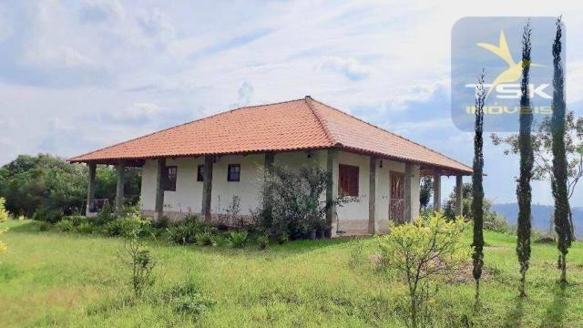 CH0281 - Quitandinha chácara 15.000 m² Excelente casa, vista incrível