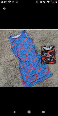 Coleção vestidos em malha love  - Foto 2