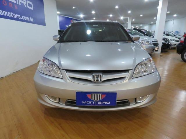 Honda Civic 1.7 EX 16v 4p Automático Blindagem III-A Completo C/ Couro - Foto 3