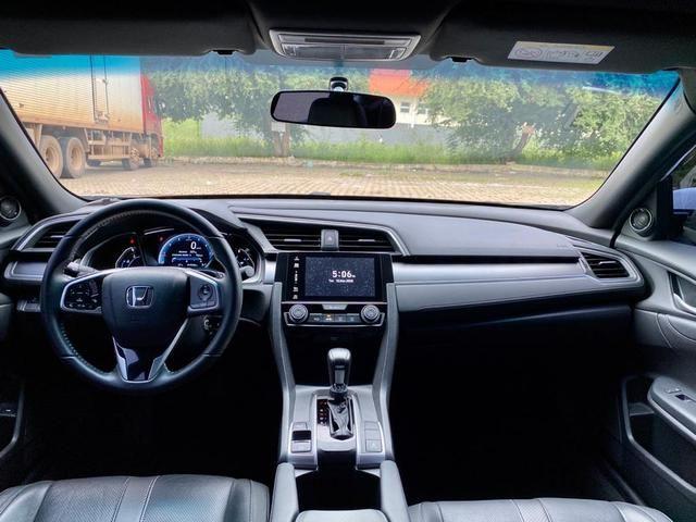 Civic 2017 EXL Branco perolizado 20 mil km - Foto 10