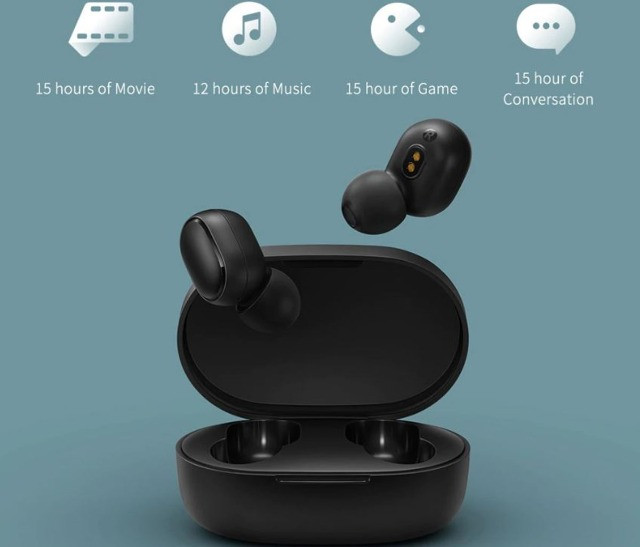 Fone De Ouvido Bluetooth Xiaomi Redmi Airdots 2 Original - Foto 5