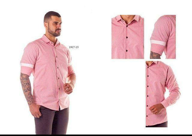 Camisa social masculina - Foto 4