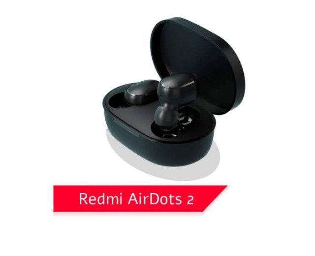 Fone De Ouvido Bluetooth Xiaomi Redmi Airdots 2 Original - Foto 2