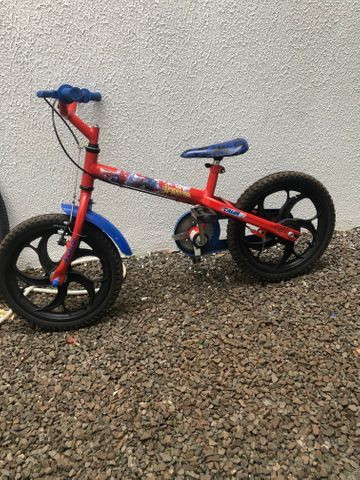 Bike infantil Home aranha