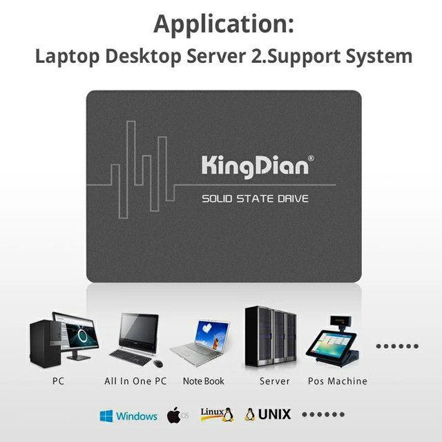 SSD KingDian S370-256GB 256GB - Foto 4