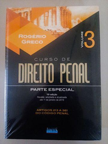 03 volumes do Curso de Direito Penal - Rogério Greco - Foto 4