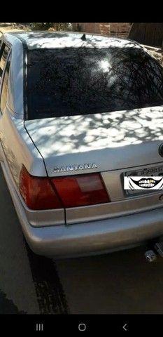 Santana 1.8 ap carro em dias( vendo o troco por moto).11.000 - Foto 7