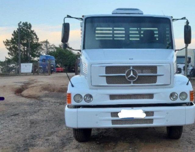 Mercedes Benz Mb 1620 Eletronico Truck 6x2 Com Carroceria 130 MIL - Foto 4