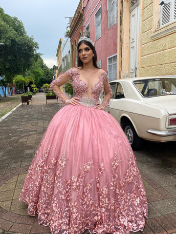 Coleção 2021 de vestido de debutante - 15 anos  - Foto 3