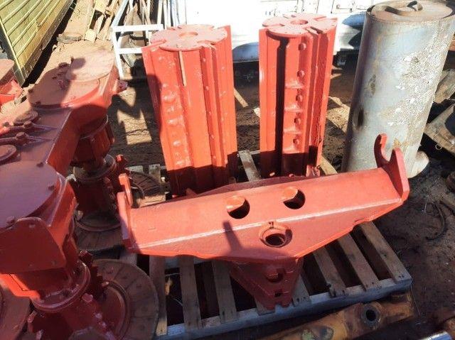Rolo picador e mesa do giro  e corte de base Case 8800