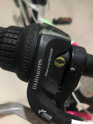 Bicicleta Top mountain Bike para meninas aro 20 - Foto 3