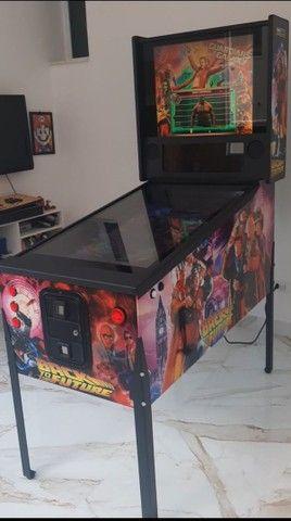 pinball Virtual em tamanho real de uma máquina mecânica mesas taito,Stern,bally,Sega - Foto 5