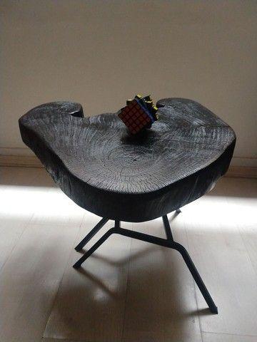 Mesa de centro lindíssima, peça única. - Foto 4