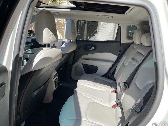 Jeep Compass Longitude Diesel 4x4 Teto Solar botão start/stop 20/20 - Foto 9