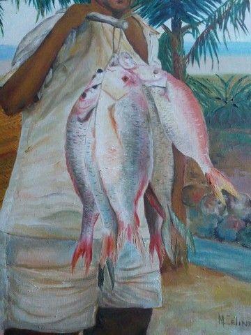 Quadro Pescador. - Foto 4