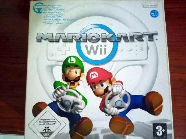 Nintendo Wii completo com 5 jogos - Foto 2