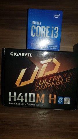 I310100f e H410m Gigabyte  - Foto 2