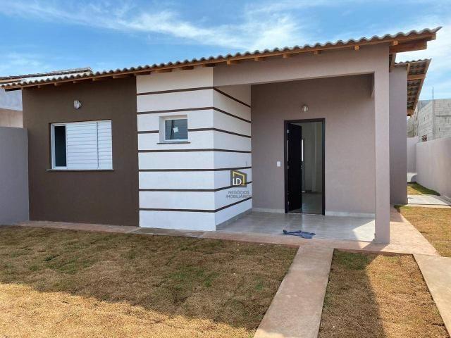 Casa com 2 dormitórios à venda, 66 m² por R$ 159.900 - Jacaranda - Várzea Grande/MT