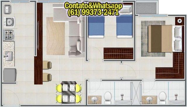 Apartamento para Comprar em Goiania, com 2 Quartos (1Suíte), Lazer Completo! Parcelamos! - Foto 11