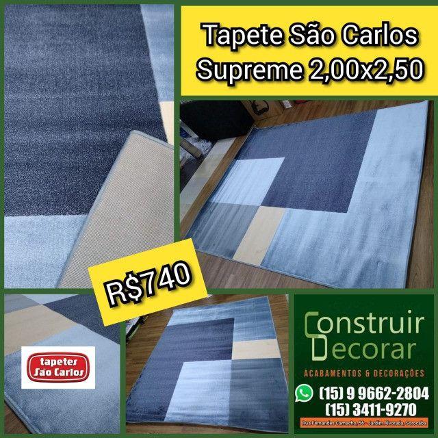 Tapete São Carlos Supreme Cinco 2,00x2,50 - Novo