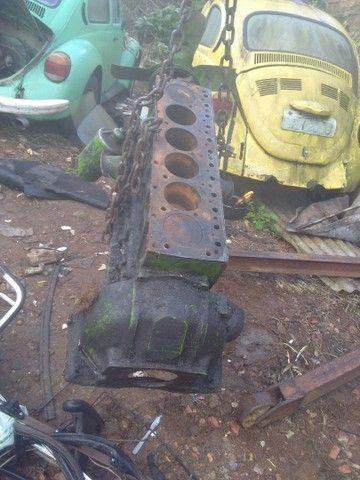 Bloco Chevrolet  da C10  6 cilindros vendo por peças ou o bloco inteiro - Foto 13