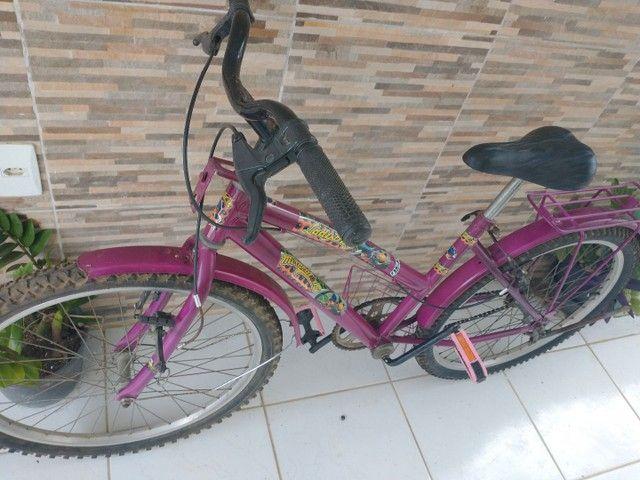 Bicicleta feminina aro 24 - Foto 4