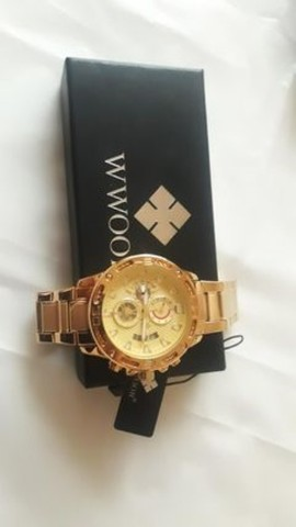 Relógio de luxo wwoor cronógrafo modelo 2021 - Foto 3