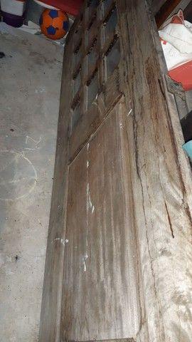 Porta e Janela de madeira pau darco - Foto 6
