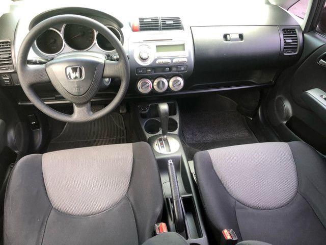 Honda / Fit 1.5 Ex 2007 Completo + Automático 26.900 - Foto 6