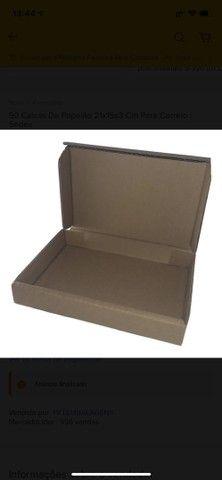 90 Caixas De Papelão 21x15x3 Cm Para Correio / Sedex - Foto 2
