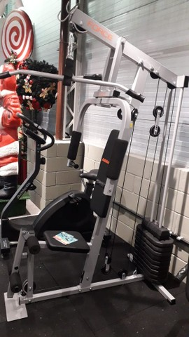 Estações Novas  e Semi Nova com 30 tipos de exercícios. A Pronta Entrega - Foto 2