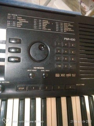 Teclado Yamaha PSR 630 - Foto 2