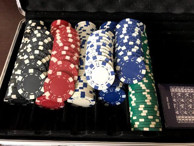 Maleta Poker 500 Fichas | Baralho - Jogo - Sorocaba - Foto 5