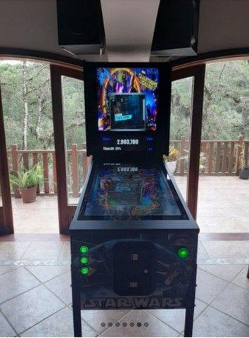 pinball Virtual em tamanho real de uma máquina mecânica mesas taito,Stern,bally,Sega - Foto 2