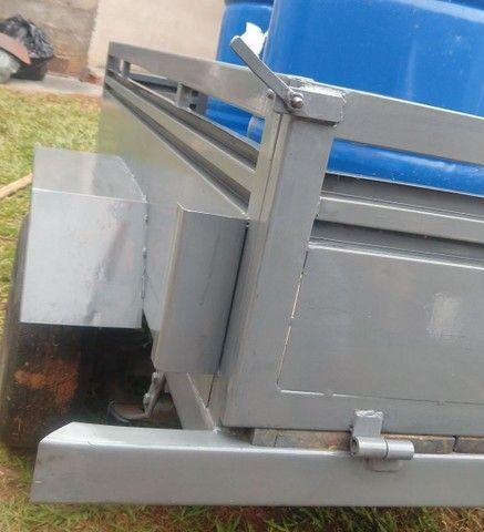 Carretinha em Metal aguenta peso - Foto 8