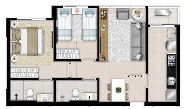 Apartamento para venda com 2 quartos e suíte - Foto 10