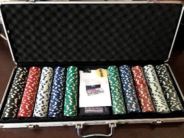 Maleta Poker 500 Fichas | Baralho - Jogo - Sorocaba - Foto 6